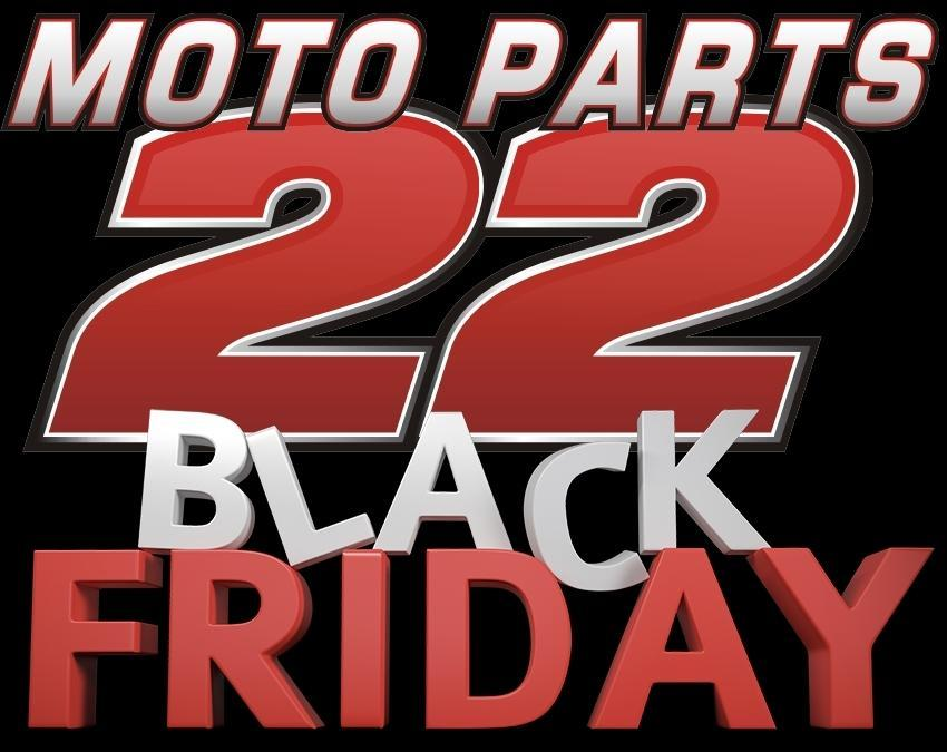 Black Friday 2018 στο MotoParts22!