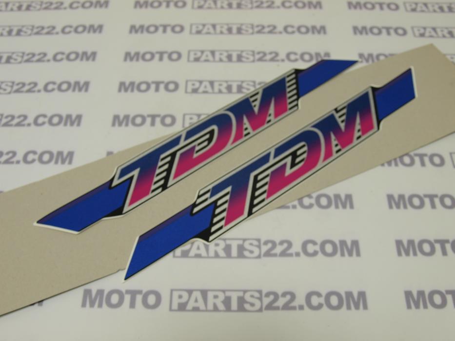 Motoparts 22 Yamaha Tdm 850 3vd Graphic Set Cowling 3vd