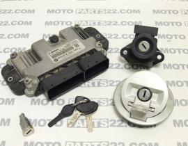BMW F 800 GS 2011 LOCK ASSY STEERING, FUEL CAP, LOCK, KEYS, ECU CDI SPARK UNIT IGNITOR BMSKP 8 522 506-01