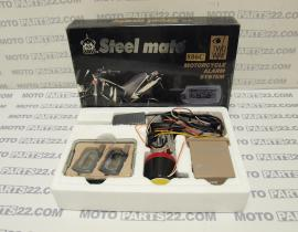 STEEL MATE 886C MOTOTORCYCLE ALARM SYSTEM TWO WAY