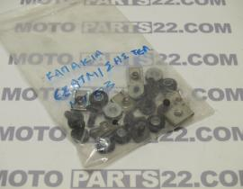 YAMAHA MT 03 660 SET SCREW FOR MUFFLERS PROTECTORS