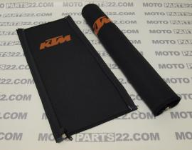 KTM FRONT DAMPER COVER WITH ZIPPER 16X35