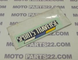 HONDA AX1 250 STRIPE STICKER COVER SIDE 83511-KW3-300ZA
