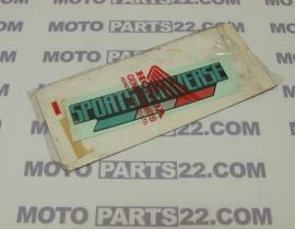 HONDA AX1 250 STRIPE STICKER COVER SIDE