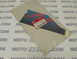 HONDA XLV 400, XLV 400, XL 400 V, XL 600 V TRANSALP  STRIPE STICKER RIGHT SIDE COWL 87134-MAB-620ZA
