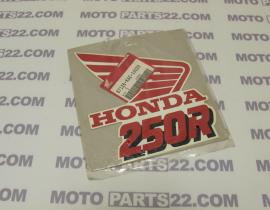 HONDA CRM 250 R K '89 STRIPE STICKER RIGHT SIDE RADIATOR COVER 87126-KAG-300ZB