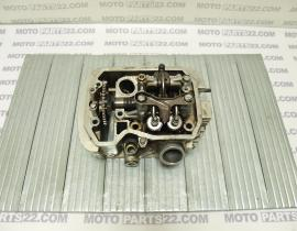 HONDA STEED 400 CYLINDER HEAD FRONT COMPLETE KW9 H2