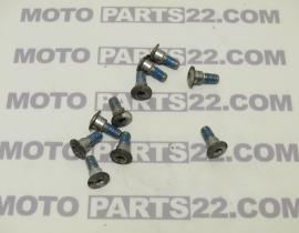 SUZUKI DL 650 V STROM ABS FRONT DISC PLATE SCREWS SET