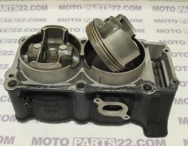 YAMAHA TDM 900 5PS 2BO BLACK ENGINE CYLINDER BLOCK WITH PISTONS