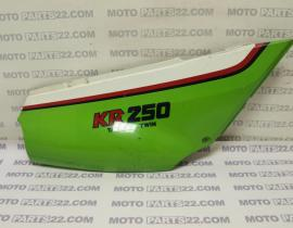 KAWASAKI KR 250 ATANDEM TWIN 85  FRAME COVER RIGHT 36001-1274  290A-A101