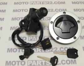 KAWASAKI Z  750 08 COMPLETE SET MAIN SWITCH FUEL CAP SEAT LOCK