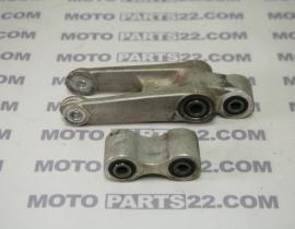HONDA XLV 650 TRANSALP RD 10 E  00 06 REAR CUSHION ARM HUB COMPLETE WITH ROD 52465-MCB-770  52475-MCB-610