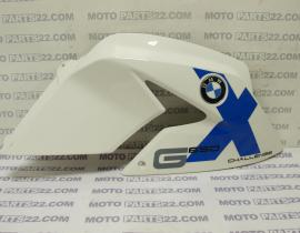 BMW G 650 X CHALENGE  K15 06 07 FAIRING RIGHT LATERAL TRIM PANEL RIGHT WITH EMBLEM 46 63 7 696 762  51 14 8 164 924