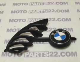 BMW F 650 GS  00 03 RIGHT GRIP WITH PLAQUE SUPPORT & EMBLEM BADGE D=58 MM  46 63 7 345 732   51 14 8 164 924