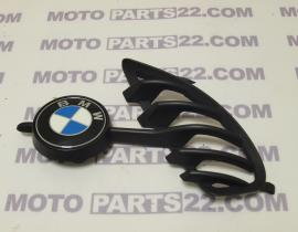 BMW F 650 GS  00 03 LEFT GRIP WITH PLAQUE SUPPORT & EMBLEM BADGE D=58 MM  46 63 7 345 731   51 14 8 164 924