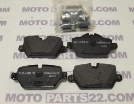 BMW E80, E87, E90, E92  GENUINE CAR REAR BRAKE PADS  34 21 6 788 183