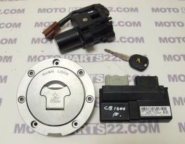 HONDA CB 1000 R MFN SET CDI UNIT KEIHIN 38770-MFN-D01  8840-110208 CENTER SWITCH LOCK FUEL TANK CAP
