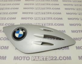 BMW F 650 CS SCARVER 00 03  K14 COVER INSERT LEFT & EMBLEM 46 63 7 658 367