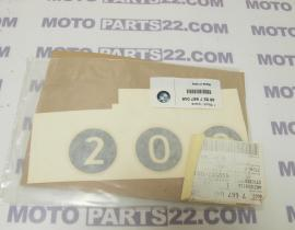 BMW C1, C1N 200 STICKER REAR LATERAL  PART LEFT  200 EXCECUTIVE  46637667046 / 46 63 7 667 046
