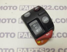 BMW R 1200 GS K25  05 07  LEFT COMBINATION SWITCH TRIP ABS  61317687759 / 61 31 7 687 759