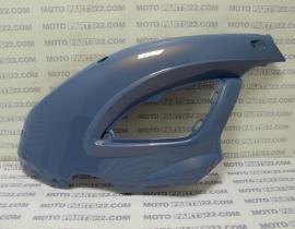 BMW F 650 CS SCARVER  K14  00 05   COVER RIGHT AZUR BLUE 2 METAL  46 63 7 666 330 / 46637666330