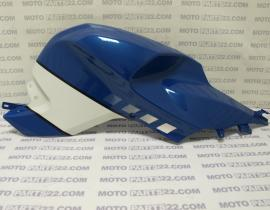 BMW  K 1200 S  K40  03 09  TANK TRIM RRIGHT INDIGO - BLUE   46 63 7 688 544 / 46637688544