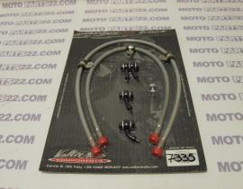 HONDA CBR 1000 RR 04 05 VALTER MOTO  FRONT BRAKE HOSES  KTFAH08