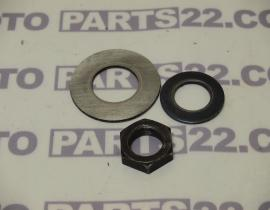 YAMAHA XT 500, SR 500 TWO VALVE 78 81 CLUTCH NUT & WASHER PLATE