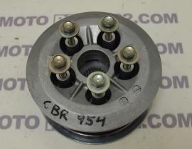 HONDA CBR 954  SC 50 E CENTER CLUTCH HOLDER & CLUTCH PRESSURE PLATE 22120-MCJ-000 / 22350-MCJ-000 / 22120MCJ000 / 22350MCJ000