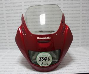 KAWASAKI ZX 1100, GPZ 1100 96, 97 UPPER COWL COMPLETE HEADLIGHT WINDSHIELD