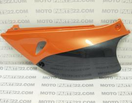 KTM DUKE 640 98 LEFT SIDE COVER SEAT CARBON 58308041000